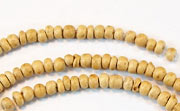 Pucalet, 2/3mm, Coco, Natural beads, DYED COCONUT BEADS