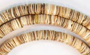 Heishi, 4/5mm, Voluta Shell beads, TROPICAL SHELL BEADS