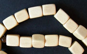 Dice, 6x6x6mm, White Wood beads, EXOTIC WOODEN BEADS