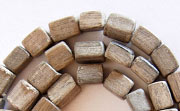 Dice, 6x6x6mm, Greywood beads, EXOTIC WOODEN BEADS