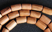 Tube, 5x8mm, Bayong beads, EXOTIC WOODEN BEADS