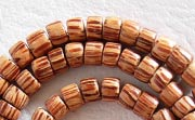 Pucalet, 4/5x4mm, Palmwood beads, EXOTIC WOODEN BEADS