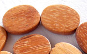 Flat Oval, 5x15x20mm, Bayong beads, EXOTIC WOODEN BEADS