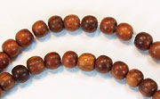 Round, 4/5mm, Bayong beads, EXOTIC WOODEN BEADS