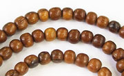 Round, 4/5mm, Robles beads, EXOTIC WOODEN BEADS