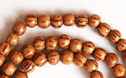 Round, 4/5mm, Palmwood beads, EXOTIC WOODEN BEADS