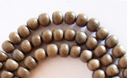 Round, 4/5mm, Greywood beads, EXOTIC WOODEN BEADS