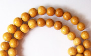 Round, 4/5mm, Jackfruit beads, EXOTIC WOODEN BEADS