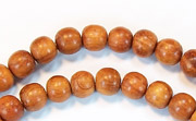Round, 6mm, Bayong beads, EXOTIC WOODEN BEADS