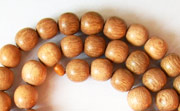 Round, 6mm, Rosewood beads, EXOTIC WOODEN BEADS