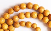 Round, 6mm, Jackfruit beads, EXOTIC WOODEN BEADS