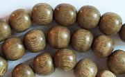 Round, 8mm, Greywood beads, EXOTIC WOODEN BEADS