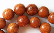 Round, 10mm, Bayong beads, EXOTIC WOODEN BEADS