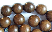 Round, 10mm, Greywood beads, EXOTIC WOODEN BEADS
