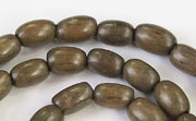 Oval, 6x9mm, Greywood beads, EXOTIC WOODEN BEADS