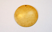 Disc, 40mm, Coco, Natural beads, DYED COCONUT PENDANTS & PARTS