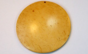 Disc, 60mm, Coco, Natural beads, DYED COCONUT PENDANTS & PARTS