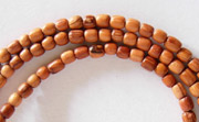 Pucalet, 3x3mm, Bayong beads, EXOTIC WOODEN BEADS