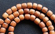Pucalet, 4/5x4mm, Bayong beads, EXOTIC WOODEN BEADS
