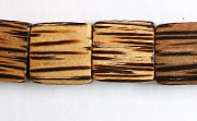 Flat Square, 5x15x15mm, Patikan beads, EXOTIC WOODEN BEADS
