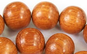 Round, 15mm, Bayong beads, EXOTIC WOODEN BEADS