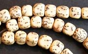 Dice, 7mm, Salwag, Natural beads, NATURAL SEED & NUT BEADS