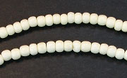 Pucalet, 4x3mm, Bone beads, BONE BEADS