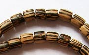 Tube, 6x6mm, Patikan beads, EXOTIC WOODEN BEADS