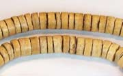 Heishi, 7/8mm, Coco, Natural beads, DYED COCONUT BEADS