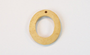 Oval, 29x25mm, Coco, Natural beads, NATURAL COCONUT PENDANTS & PARTS