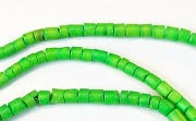 Heishi, 2/3mm, Coco, Spring Green beads, DYED COCONUT BEADS