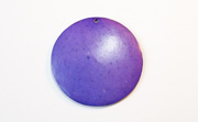 Disc, 40mm, Coco, Violet beads, DYED COCONUT PENDANTS & PARTS