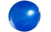 Disc, 60mm, Coco, Royal Blue beads, DYED COCONUT PENDANTS & PARTS