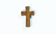 Cross, 4/5x15x25mm, 1.5mm Lengthwise Hole, Robles beads, EXOTIC WOODEN PENDANTS