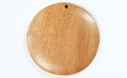 Disc, 40mm, Rosewood beads, EXOTIC WOODEN PENDANTS