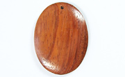 Oval, 40x29mm, Bayong beads, EXOTIC WOODEN PENDANTS