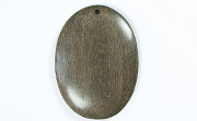 Oval, 40x29mm, Greywood beads, EXOTIC WOODEN PENDANTS
