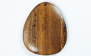 Teardrop, 40x33mm, Robles beads, EXOTIC WOODEN PENDANTS