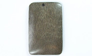 Rectangle, 40x26mm, Greywood beads, EXOTIC WOODEN PENDANTS