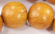 Round, 20mm, Jackfruit beads, EXOTIC WOODEN BEADS