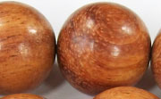 Round, 25mm, Bayong beads, EXOTIC WOODEN BEADS
