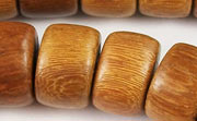 Pucalet, 16x10mm, Robles beads, EXOTIC WOODEN BEADS