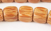 Dice, 10x10x10mm, Palmwood beads, EXOTIC WOODEN BEADS