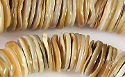 Heishi, 12mm, Kabibe Shell beads, TROPICAL SHELL BEADS