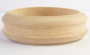 Bangle, Grooved, 25x8mm, Wood beads, WOODEN BANGLES