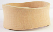 Bangle, Wave, (31 to 42)x7mm, Wood beads, WOODEN BANGLES