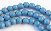 Round, 6mm, Wood, R16 beads, DYED WOODEN BEADS
