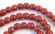 Round, 6mm, Wood, E6 beads, DYED WOODEN BEADS