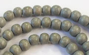 Round, 6mm, Wood, E11 beads, DYED WOODEN BEADS