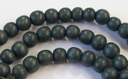 Round, 6mm, Wood, E13 beads, DYED WOODEN BEADS